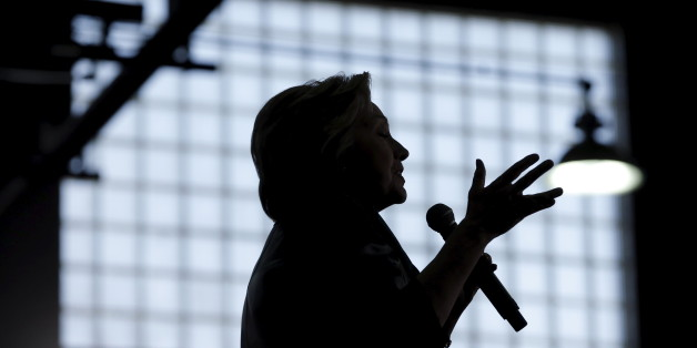 U.S. Democratic presidential candidate Hillary Clinton speaks at a campaign rally in Bridgeport