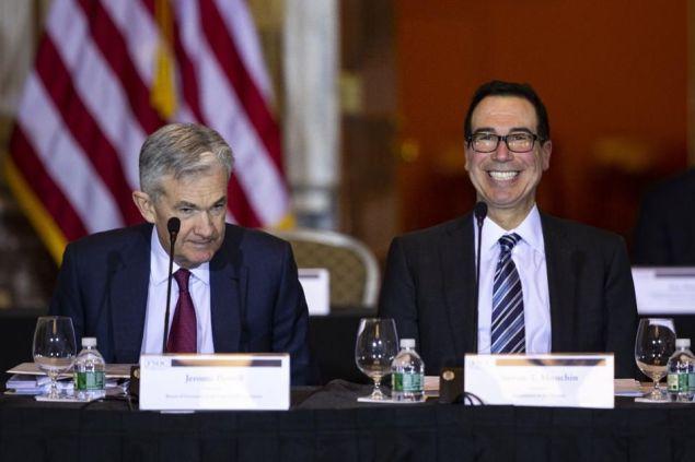 Mnuchin and Powell